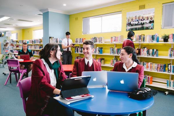 Holy Spirit Catholic College Lakemba School Library